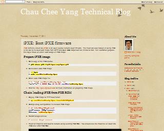 begin end - Chau Chee Yang Technical Blog