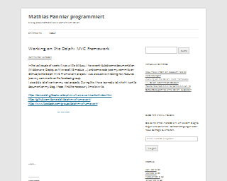 begin end - Mathias Pannier programmiert