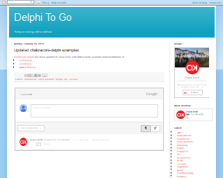 begin end - Delphi To Go